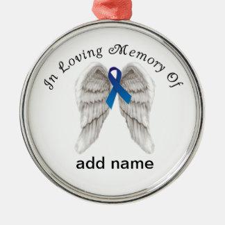 Memorial Christmas Ornament Colon  Cancer