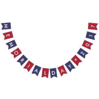 Memorial Day 2017 American Flag Colors