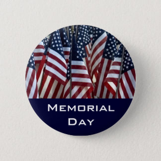 Memorial Day 2 Inch Round Button