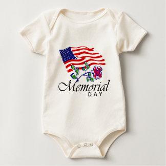 Memorial Day Baby Bodysuit