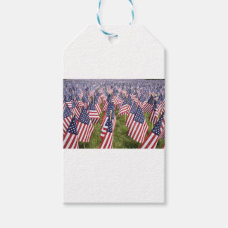 Memorial Day Flags Pack Of Gift Tags
