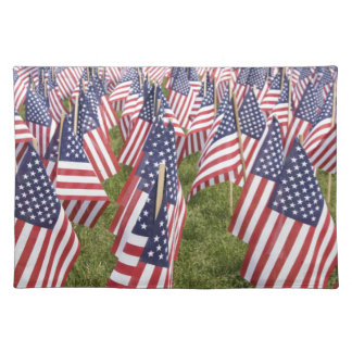 Memorial Day Flags Placemat