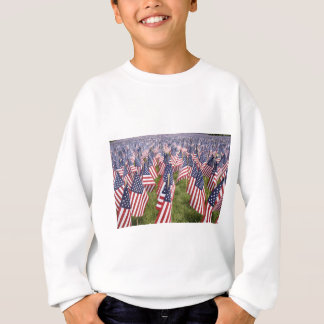 Memorial Day Flags Sweatshirt