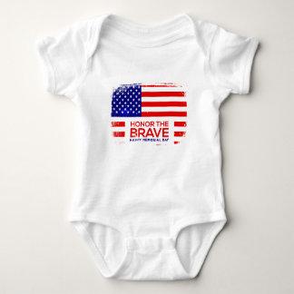 Memorial Day grunge Baby Bodysuit