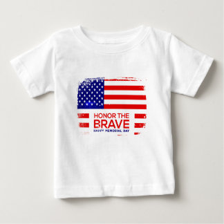 Memorial Day grunge Baby T-Shirt