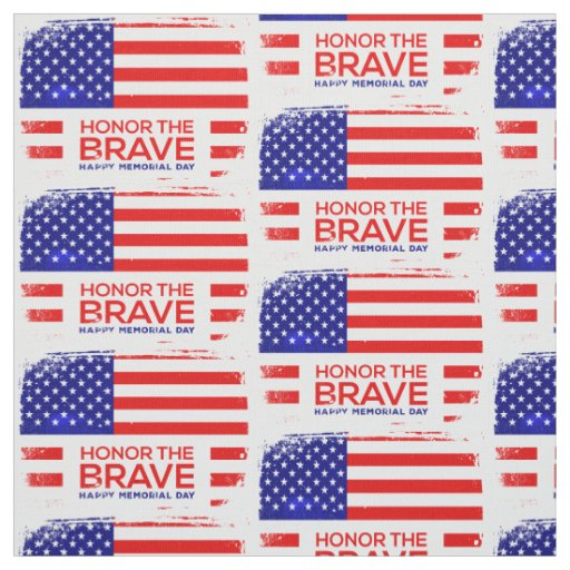 memorial day grunge fabric
