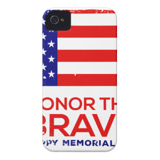 Memorial Day grunge iPhone 4 Case