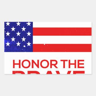 Memorial Day grunge Sticker