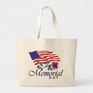 Memorial Day Large Tote Bag