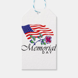 Memorial Day Pack Of Gift Tags