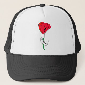 Memorial Day Poppy - Hat
