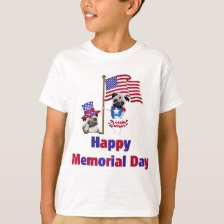 Memorial Day Pugs.png T-Shirt
