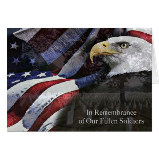 Memorial Day Remembrance Card