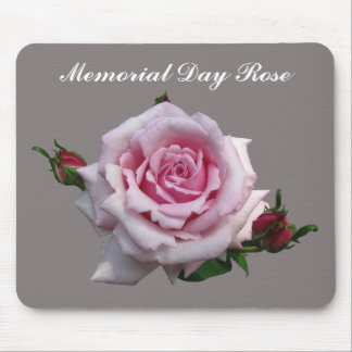 MEMORIAL DAY ROSE MOUSE PAD
