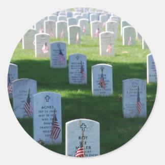 Memorial Day Round Sticker