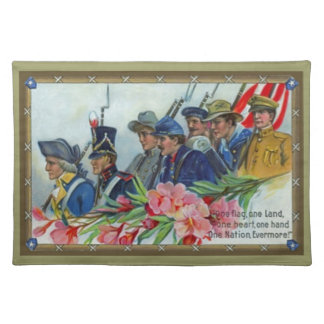 Memorial Day Soldiers Placemats