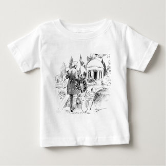 Memorial Day Uncle Sam Vintage Patriotic Cartoon Baby T-Shirt