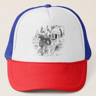 Memorial Day Uncle Sam Vintage Patriotic Cartoon Trucker Hat