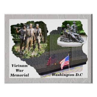 Mémorial de guerre de Vietnam Posters