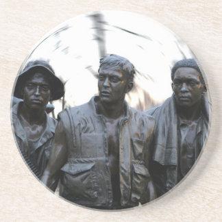 Mémorial de guerre de Vietnam Dessous De Verres