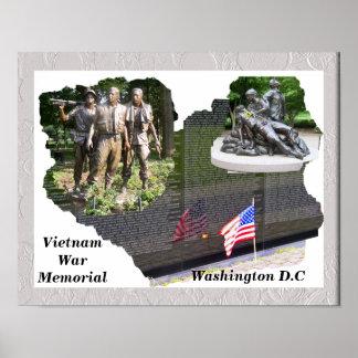 Mémorial de guerre de Vietnam Poster