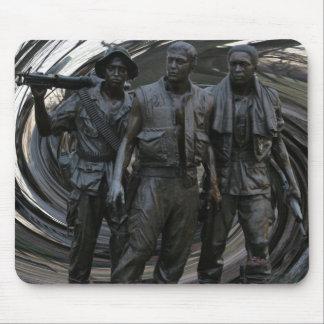 Mémorial de guerre de Vietnam Tapis De Souris