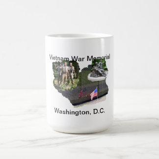 Mémorial de guerre de Vietnam Tasse