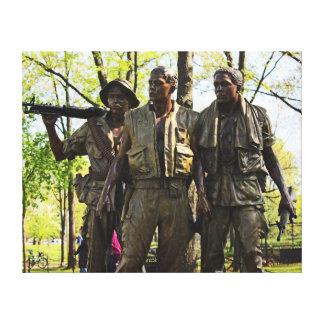Mémorial de guerre de Vietnam Toiles Tendues Sur Châssis