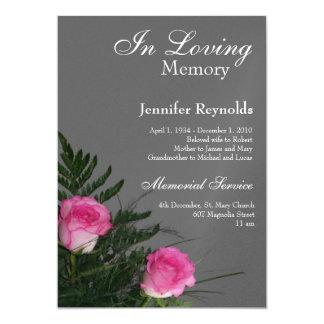 Mémorial/faire-part Carton D'invitation 12,7 Cm X 17,78 Cm