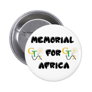 Memorial For Africa Accessories 2 Inch Round Button