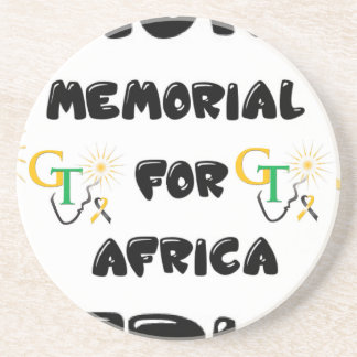 Memorial For Africa Accessories Beverage Coasters