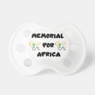 Memorial For Africa Accessories Pacifier