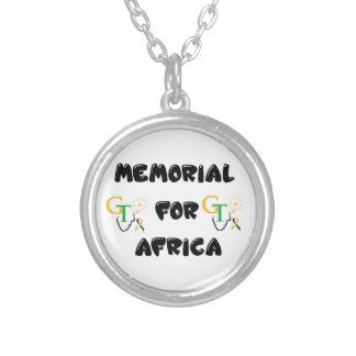 Memorial For Africa Accessories Silver Plated Necklace