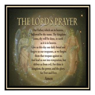 Memorial Invitation | Lord's Prayer
