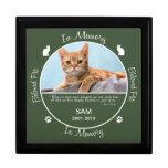 Memorial - Loss of Cat Trinket Box