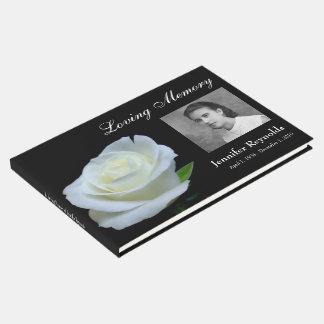 Memorial or Funeral Guestbook
