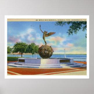 Memorial Park, Jacksonville, Florida Poster