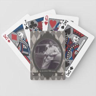 memorial service gift poker deck