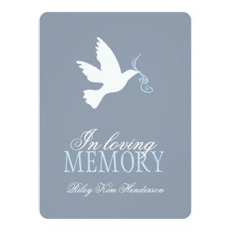 Memorial service photo funeral invitations