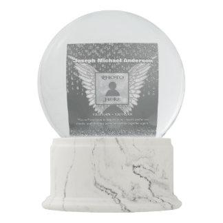 Memorial | Silver Tears Snow Globe