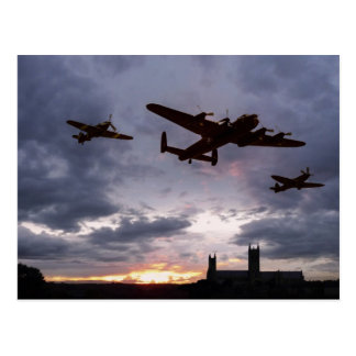 Memorial Sunset Postcard