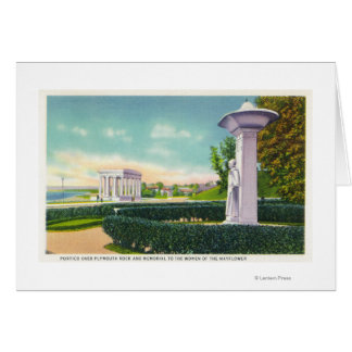 Memorial to the Mayflower Women, Portico View Card
