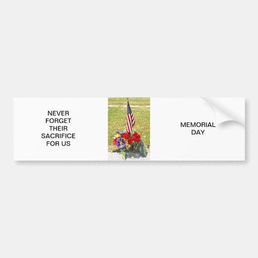 Memorial / Veterans Day Tribute Bumper Stickers