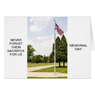 Memorial / Veterans Day Tribute Card