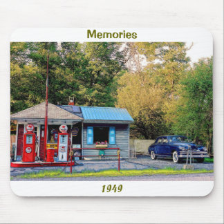 Memories 1949 mouse pad