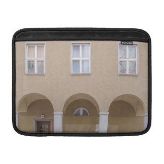 Memories behind windows and doors MacBook air sleeve
