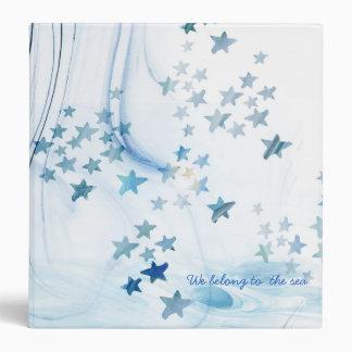 Memories belong to the sea photo album vinyl binder