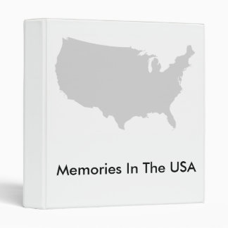 Memories In The USA - Binder