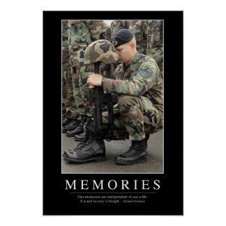 Memories: Inspirational Quote 1 Poster