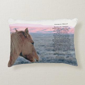 Memories of a Wild Land Decorative Pillow
